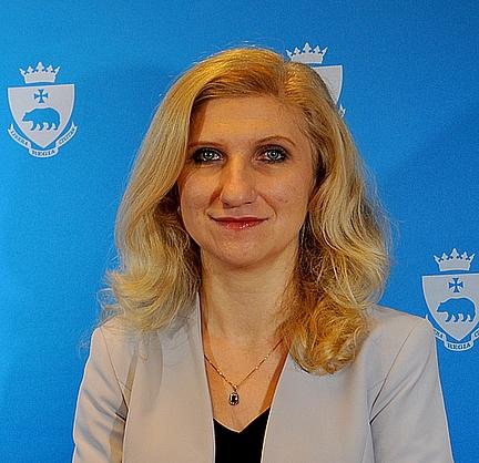 Monika Czuryk Skarbnik Miasta