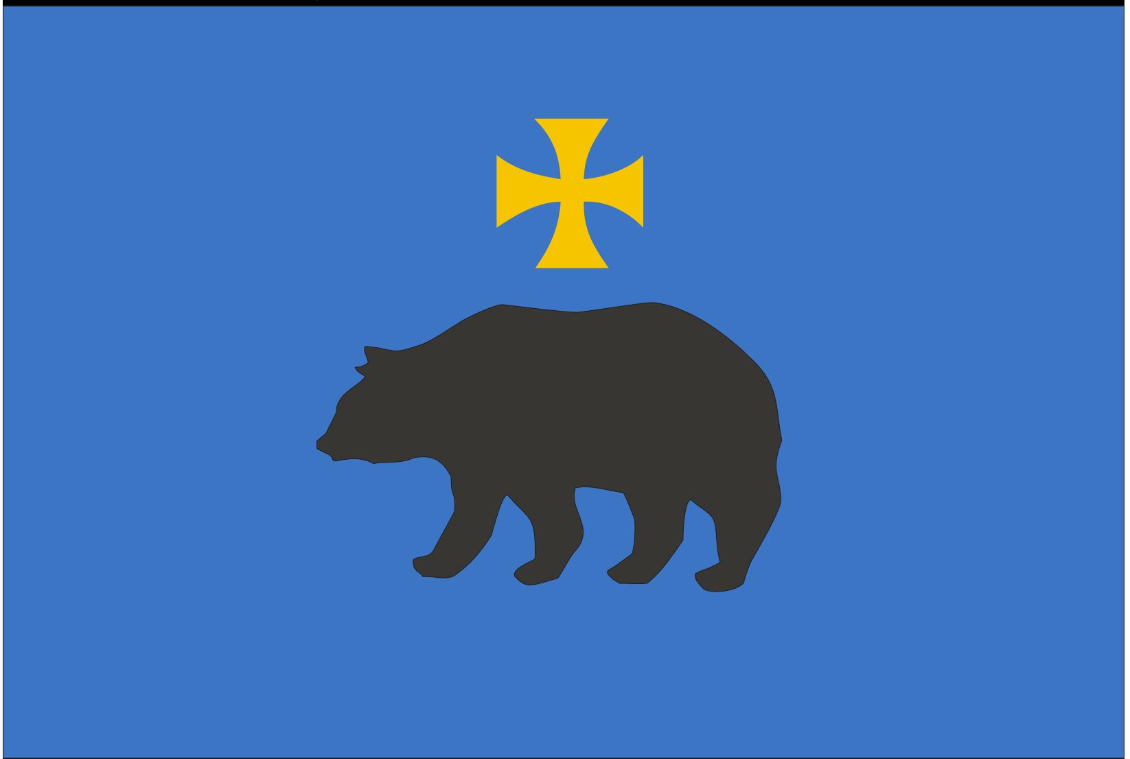 Wzór Flagi poziomej Miasta Przemyśla. Podstawa prawna: Uchwała Nr 71/2005 w sprawie ustanowienia flagi Miasta Przemyśla.