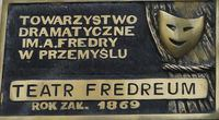 """Tablica poświęcona """"Fredreum"""""""
